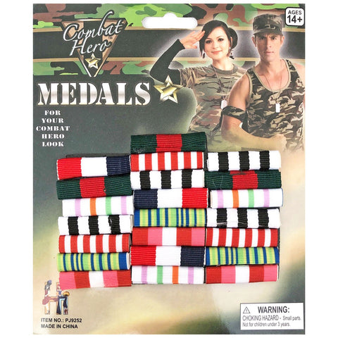 Military Hero Medal Pin badge accessories, adults, army, badge, childrens, costume, fancy dress, medal, military, soldier, war