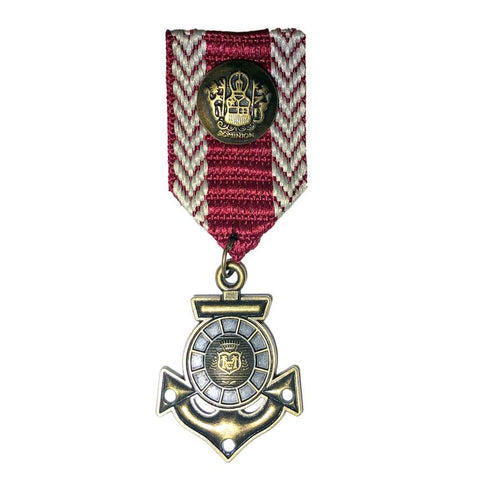 Military Hero Medal Anchor accessories, adults, army, badge, childrens, costume, fancy dress, medal, military, soldier, war
