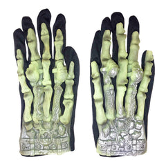 Childrens Skeleton Short Gloves