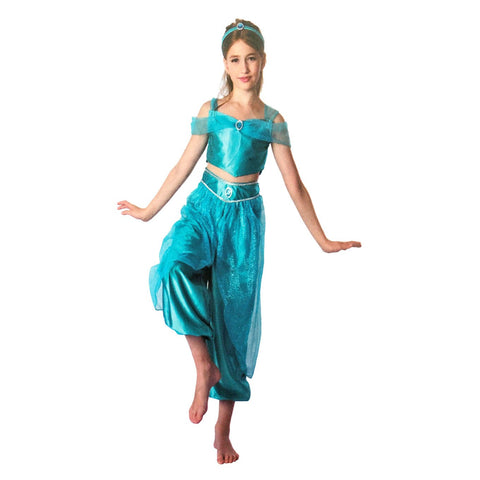 Girls Deluxe Harem Princess Costume