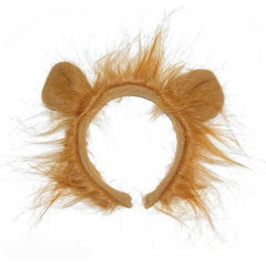 Childrens Lion Ears With Mane accessories, animals, bow tie, boys, childrens, costume, ears, fancy dress, girls, lion, tail, wizard of oz, womens