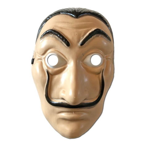 Salvidor Dali Mask adult one size, dali, fancy dress, halloween, masks, mens, money heist, salvidor dali, scary, villains, womens