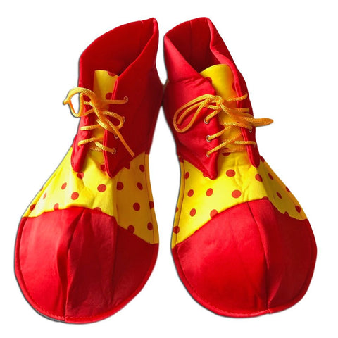 Adults Clown Oversize Shoe Covers