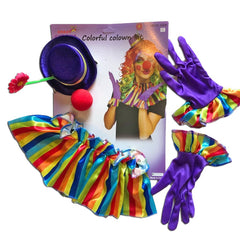 Crazy Circus Clown Dress Up Set