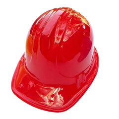 Childrens Economy Construction Hard Hat - Red