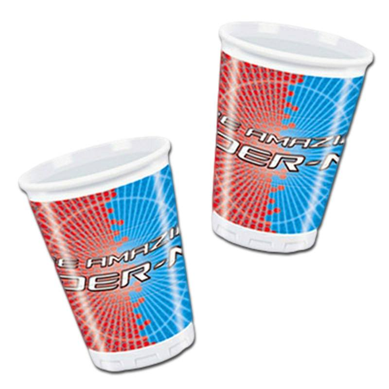 Drinking Cups - Spider-man Plastic Cups - Pack Of 10