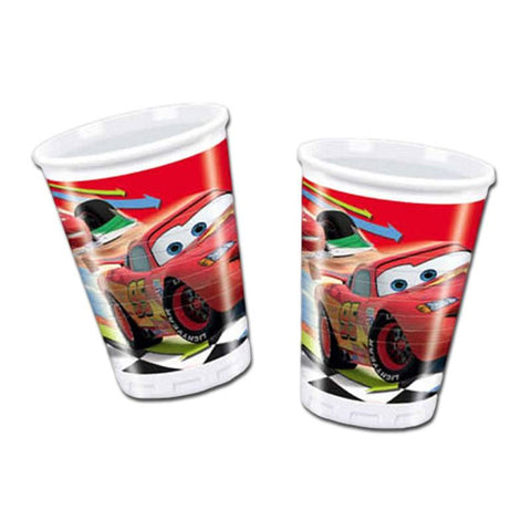 Drinking Cups - Cars 2 paper Cups - Pack Of 10
