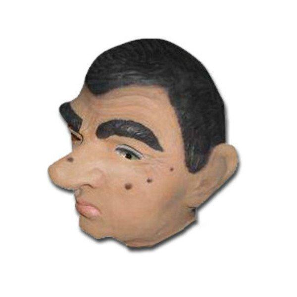 Mr Bean Look Alike Latex Mask adult one size, celebrities, fancy dress, latex, masks, movies, mr bean, on sale