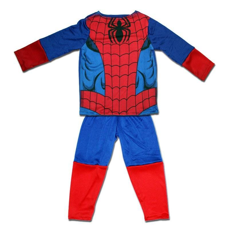 Fancy Dress Costume - Spider Boy Childs Non-Padded Costume