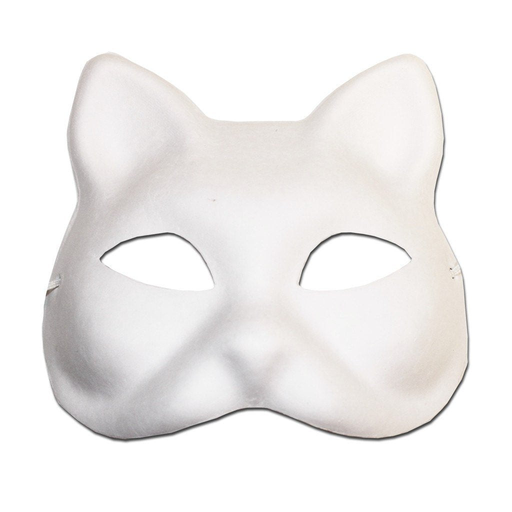 Masquerade Mask - DIY Masquerade Mask - Cat