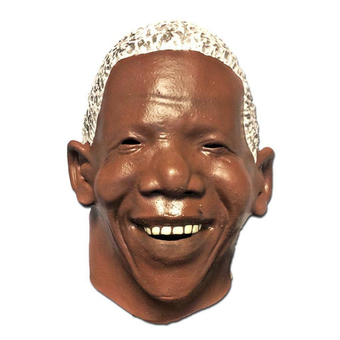 Latex Mask - Mandela Look Alike Latex Mask