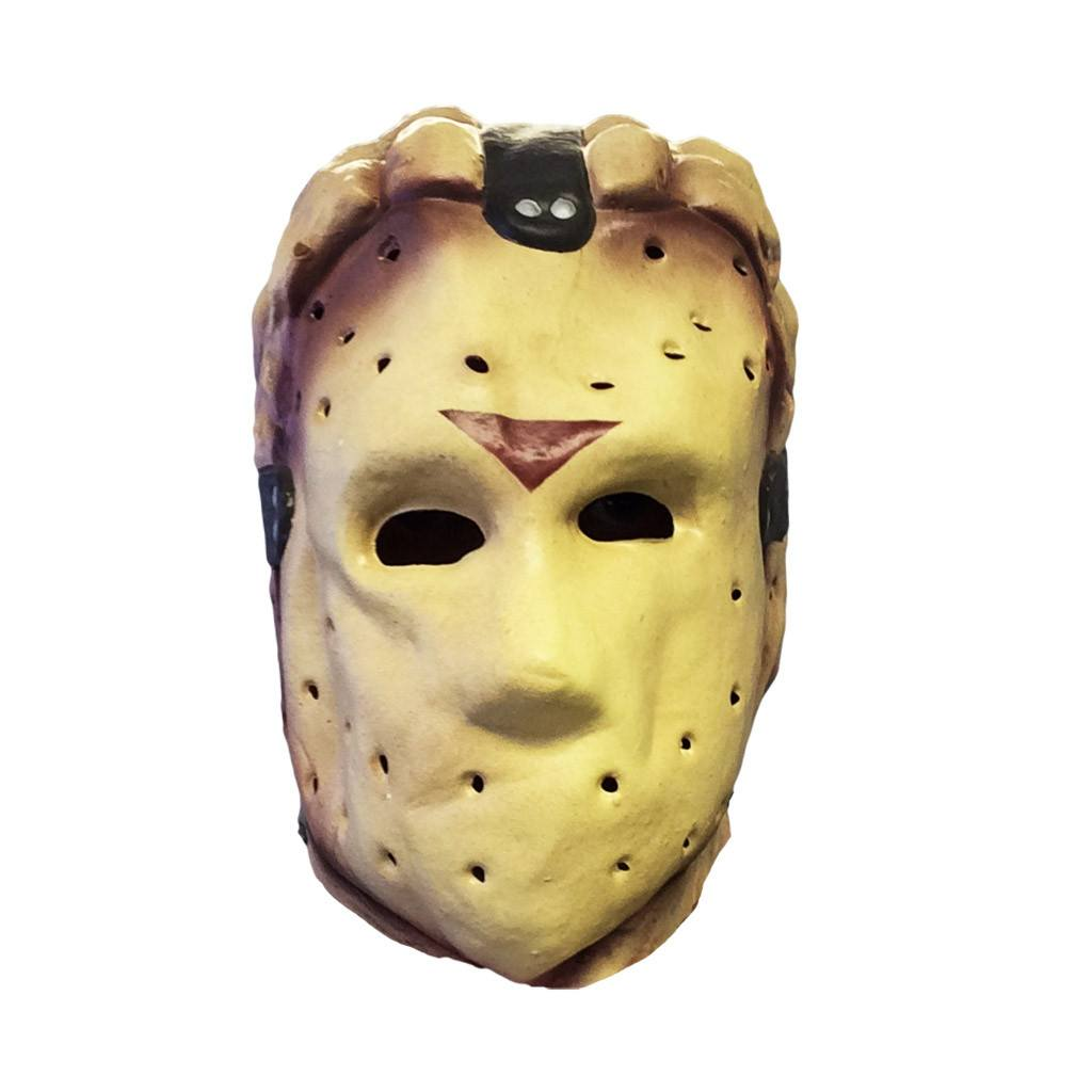 Budget Jason Voorhees Adult Fancy Dress Mask - Latex Mask - Simply Party Supplies