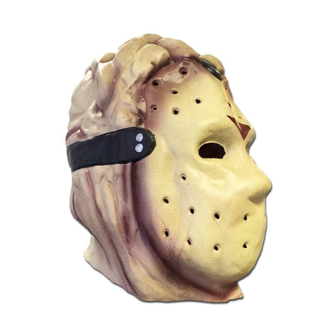 Latex Mask - Budget Jason Voorhees Adult Fancy Dress Mask