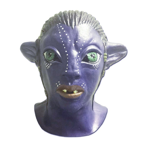 Latex Mask - Neytiri Blue Alien Latex Mask