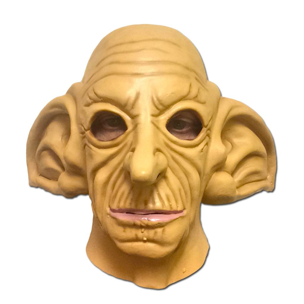 Latex Mask - Big Eared Goblin Latex Mask