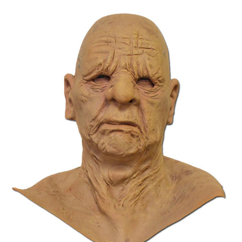 Realistic Old Man Latex Mask adult one size, fancy dress, latex, masks, realistic