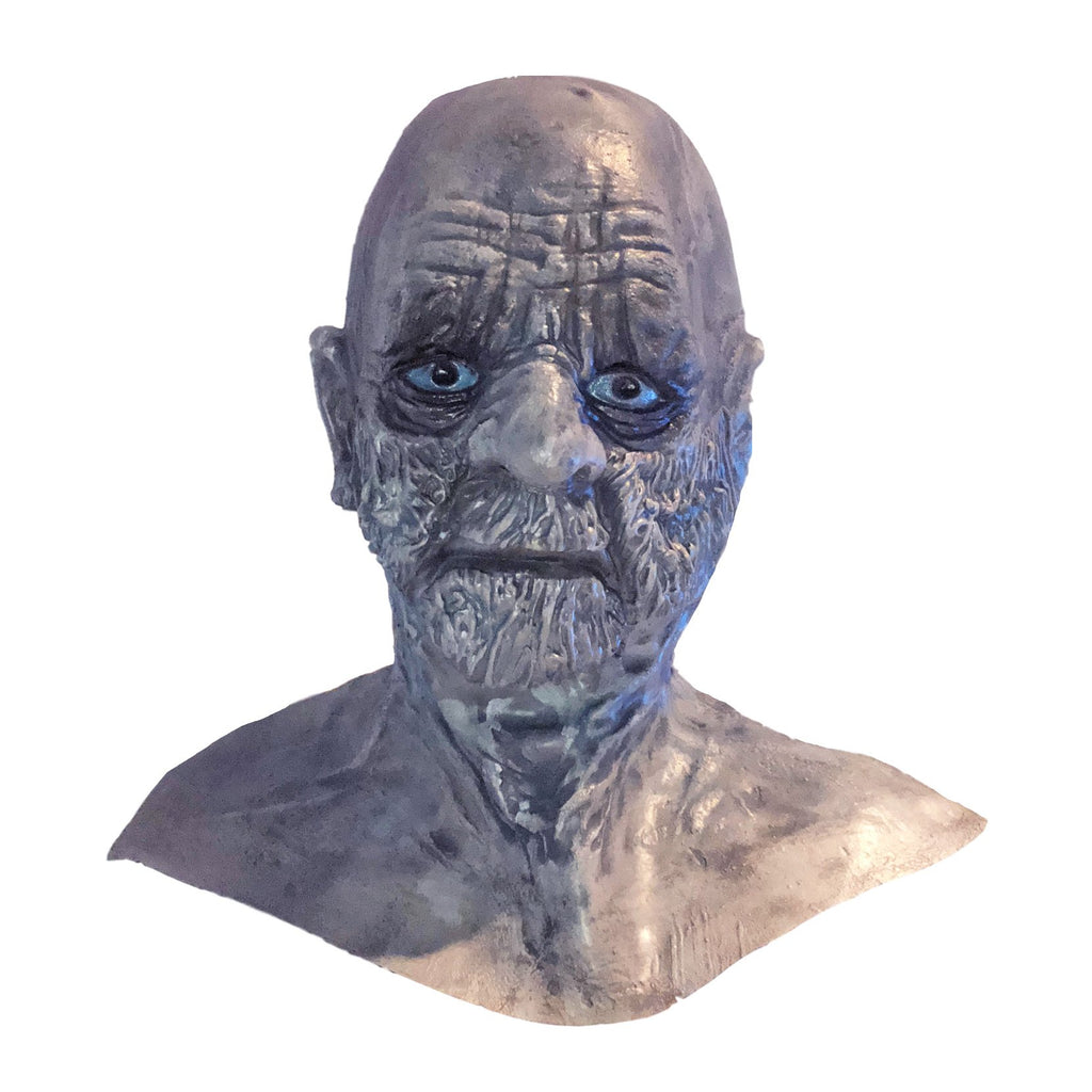 Deluxe White Walker Latex Mask