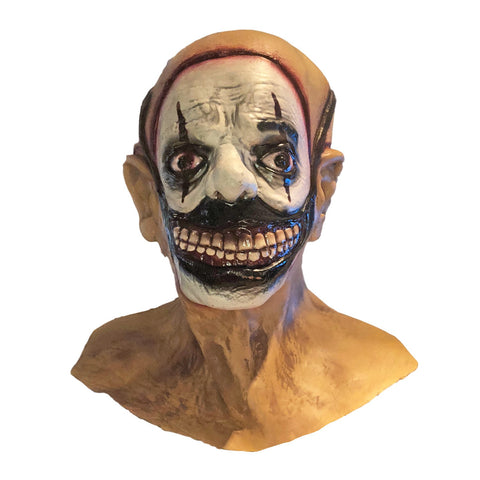 Deluxe Gruesome Faced Latex Mask