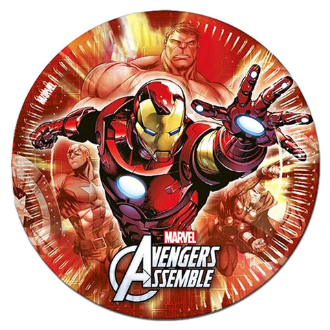 The Avengers Paper Plates - Pack Of 8