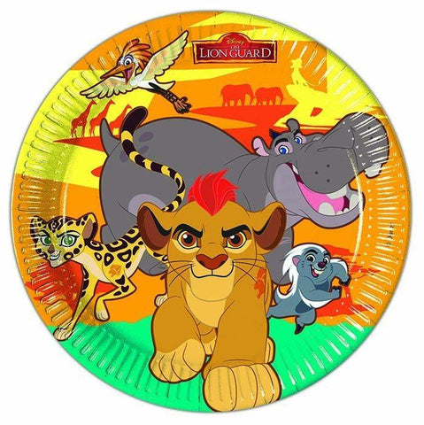 The Lion Guard Paper Plates - Pack Of 8