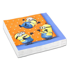 Napkins - Minions Napkins - Pack Of 20