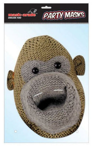 Most Famous Monkey Cardboard Cutout Mask