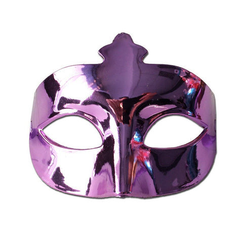 Purple Plain Scout Masquerade Mask adult one size, fancy dress, masks, masquerade, venetian, womens
