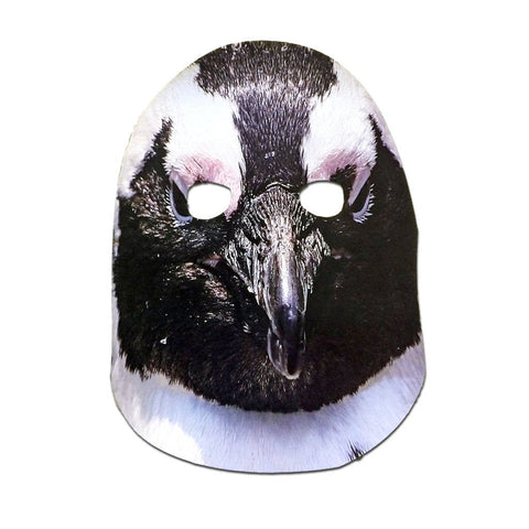 Penguin Cardboard Cutout Mask animals, cardboard cutout, fancy dress, masks, mens