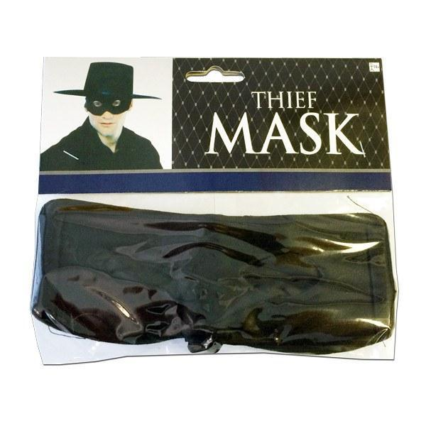 Zorro Mens Masquerade Mask black, character, fancy dress, masks, masquerade, mens, movies, zoro, zorro