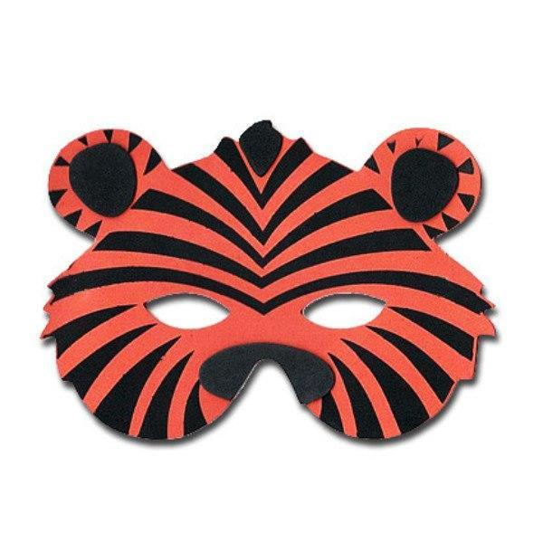 Childrens Masks - Tiger Childrens Foam Animal Mask