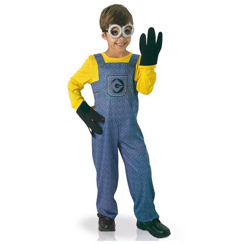 Childrens Despicable Me Minion Dave Costume