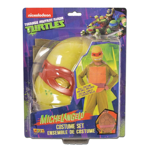 Fancy Dress Costume - Teenage Mutant Ninja Turtles Michelangelo - Ages 8-10