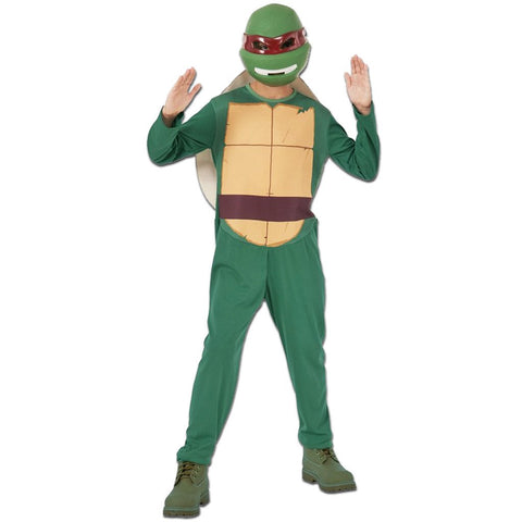 Teenage Mutant Ninja Turtles Raphael - Ages 8-10 boys, childrens, clearance, costume, fancy dress, heroes, ninja, raphael, TMNT, turtles