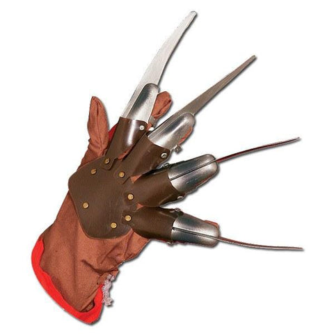 Freddy Krueger Glove - Plastic Blades accessories, adult one size, claws, fancy dress, freddy krueger, gloves, halloween, mens, scary, weapons