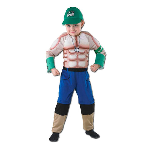 Fancy Dress Costume - WWE John Cena Costume For Ages 5-6