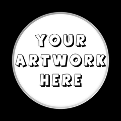 Button Badges - Button Badge - Custom Button Badge Design Fee