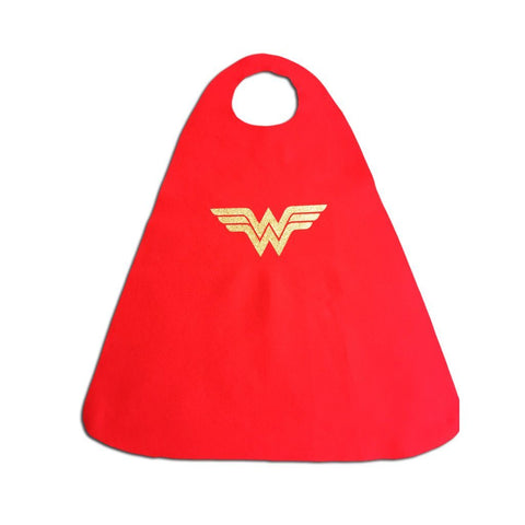 Children's Superhero Cape Set - Wonder Woman - Fancy Dress Costume - Simply Party Supplies