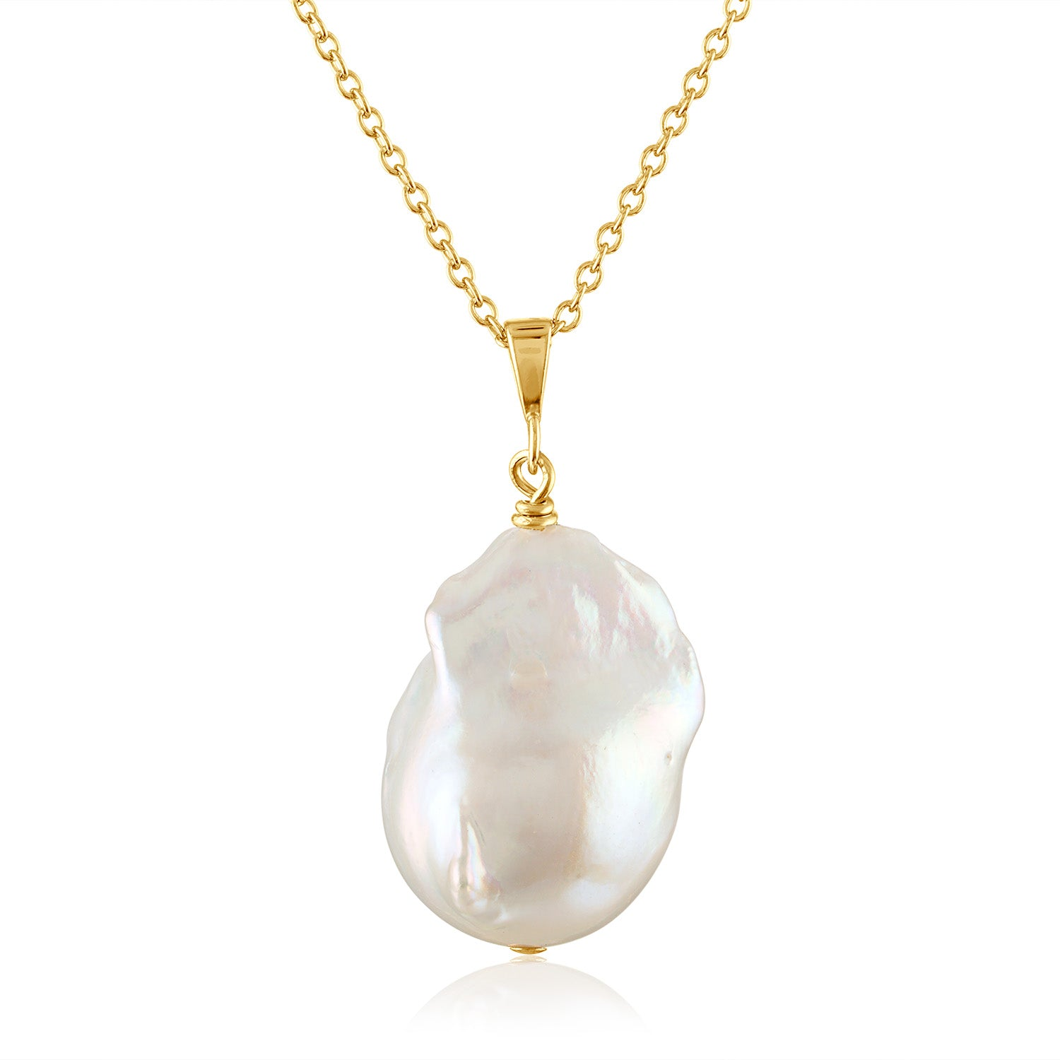 Baroque Pearl Pendants