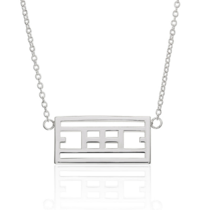 """Calling The Lines"" Tennis Court Necklace - studio-margaret"