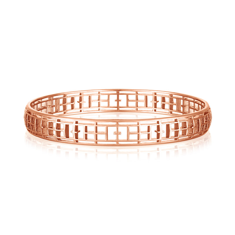 Calling the Lines Round Bangle