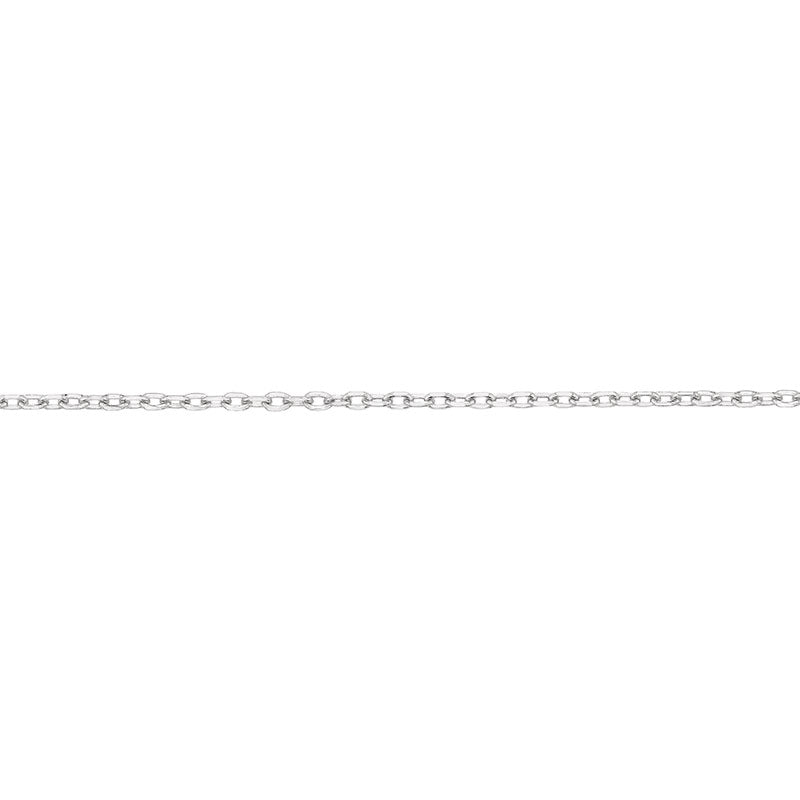 Individual Cable Chain 1.5mm, Rhodium Plated - studio-margaret