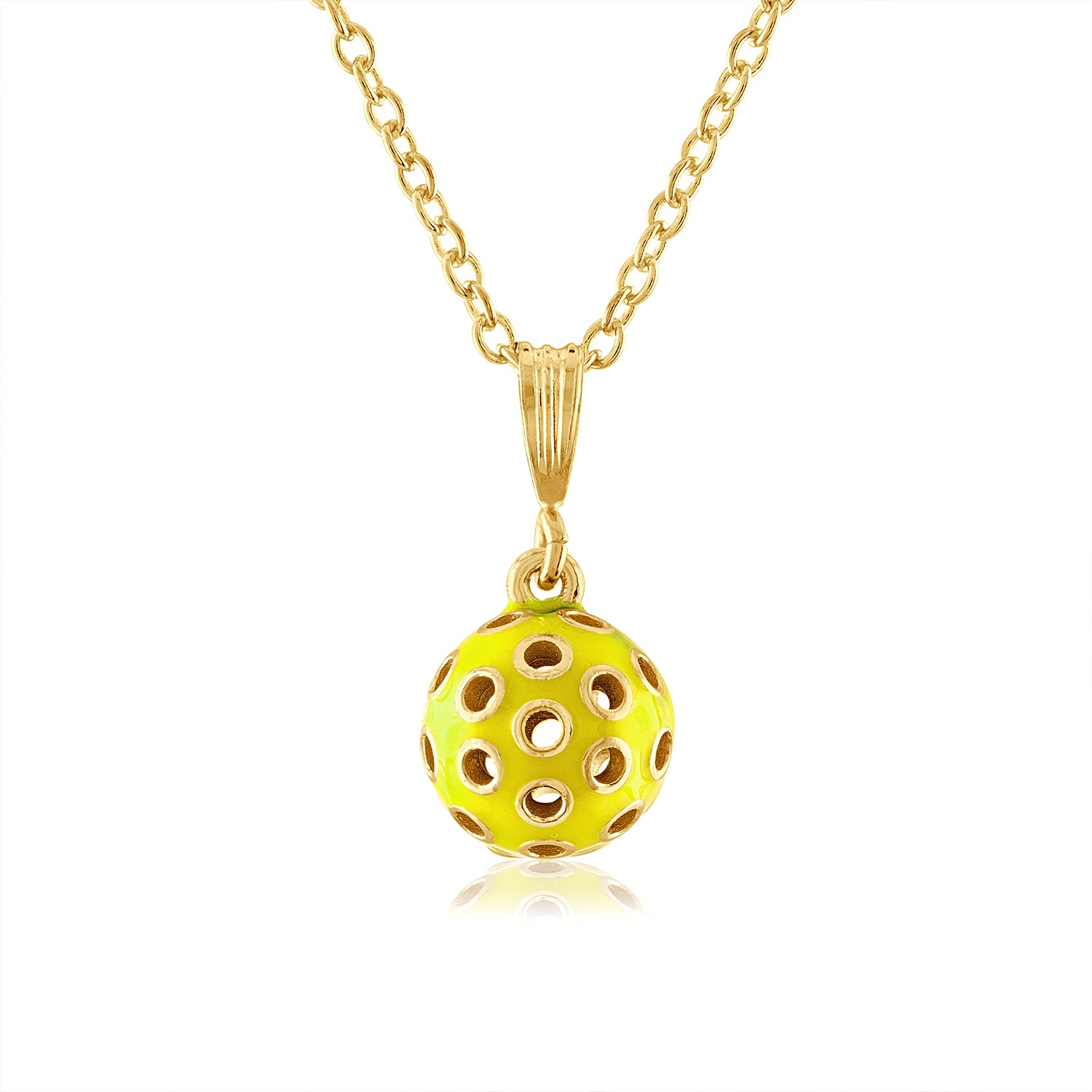 3-D Pickle Ball Pendants