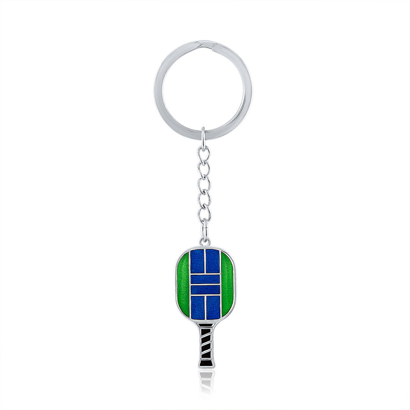 Pickle Ball Key Rings