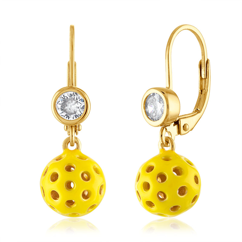 3-D Pickle Ball Earring Collection