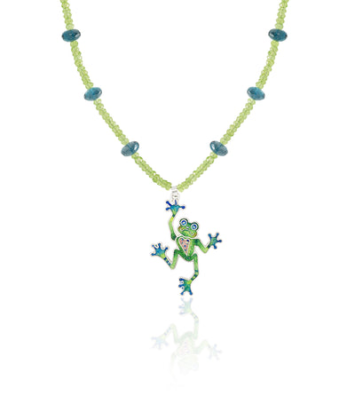 Limited Edition Enameled Tree Frog - studio-margaret