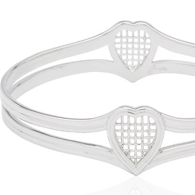 Heart Strings Bangle - studio-margaret