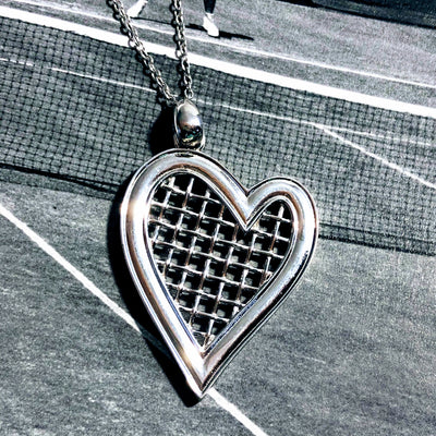 Heart Strings Pendant Large