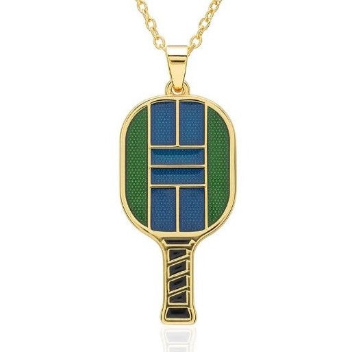 Enamel Pickle Paddle Pendant Collection