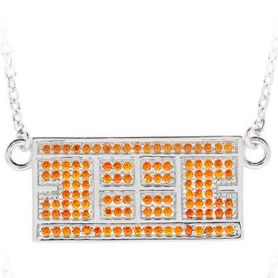 Tennis Court Necklace w/ CZ Stones (9 Colors) - studio-margaret
