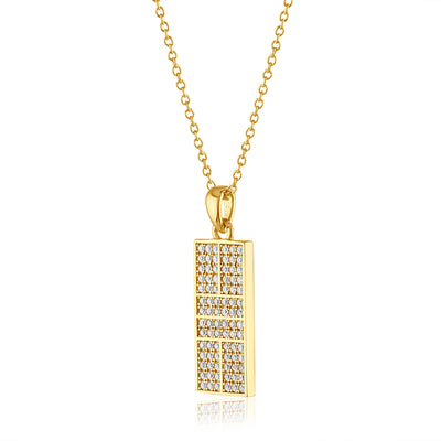 CZ Pickle Court Pendant Collection